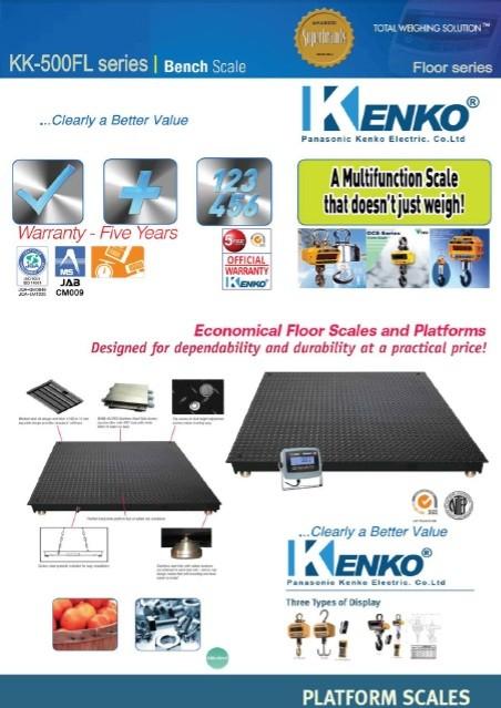 Timbangan Digital Kenko KK 500 FL