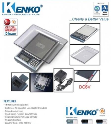 Timbangan Digital Kenko KK 500 PS New